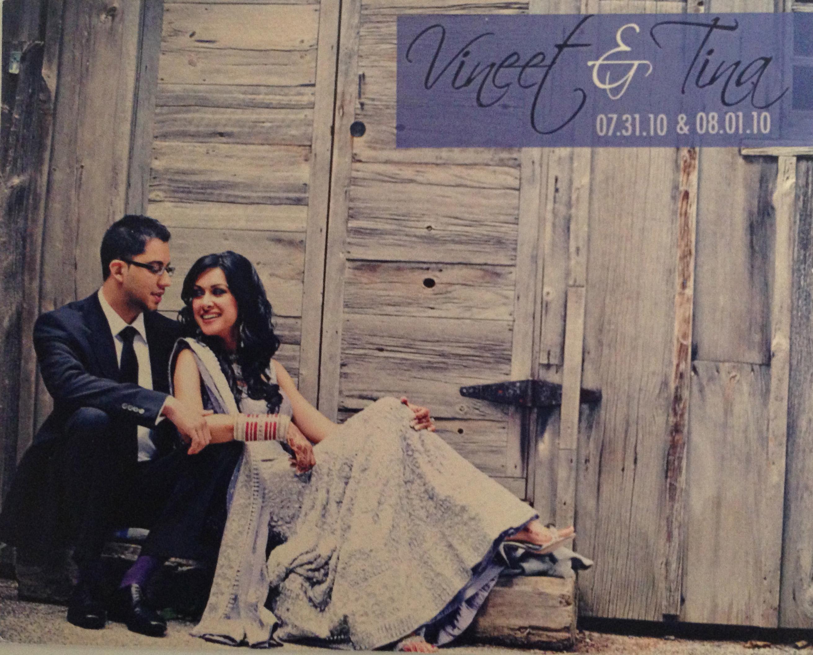 Vineet and Tina
