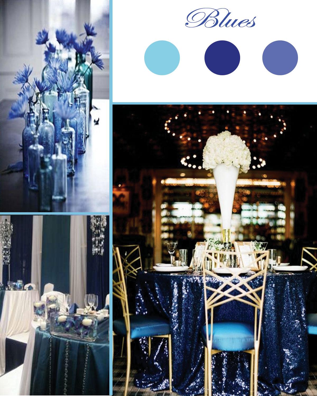 Blue Decor Patterns