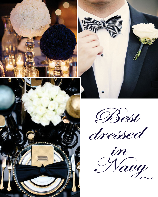 Navy Blue Professional Decor
